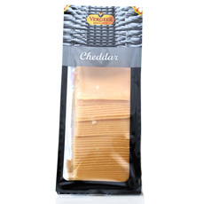 Lonchas de queso Cheddar naranja 1Kg