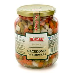 Macedonia de verduras Marzo