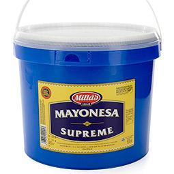 Mahonesa Millas Supreme 73% materia grasa
