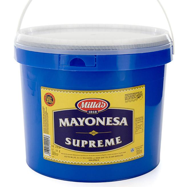 Mahonesa Millas Supreme 5Kg
