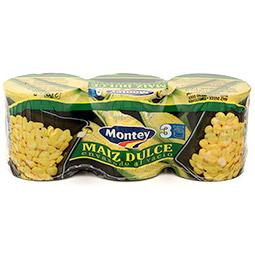 Maiz dulce pack de 3 uds.