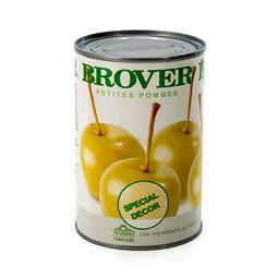 Manzana mini en almíbar calidad extra