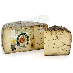 Medios quesos de oveja leche cruda con romero Gran Cardenal