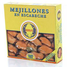 Mejillones en escabeche 550Gr 20/25 pzs Rodolfo