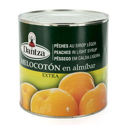 Melocotón en Almíbar Extra  30/40 frutos 3Kg