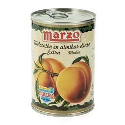 Melocotón en Almíbar Extra Marzo 5/7 frutos 480Gr