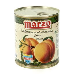 Melocotón en Almíbar calidad extra 4/7 frutos