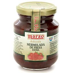 Mermelada de fresa Marzo bote vidrio