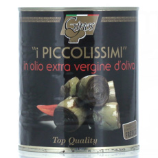 Mini alcachofas en aceite de oliva