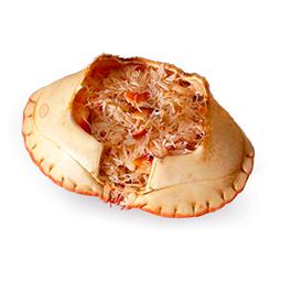 Mini txangurro relleno de carne de marisco 100Gr 30 Uds