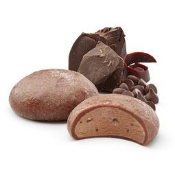 Mochi de chocolate 6 bolitas