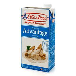 Nata Cocina Advantage 1L  15 % M.G. Elle  Vire