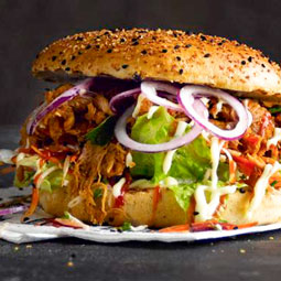 Pan hamburguesa black pepper 36 Ud x 90 Gr (diametro 12.5 Cm)
