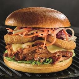 Pan hamburguesa brioche 48 Ud x 70 Gr (diametro 11.4 Cm)