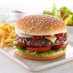 Pan hamburguesa sesamo 48 Ud x 89 Gr (diametro 12.5 Cm)