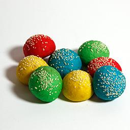 Pan mini burguer 4 colores 100 Uds