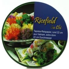 Papel de arroz redondo 22 Cm