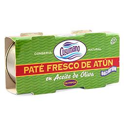 Paté fresco de atún en aceite de oliva