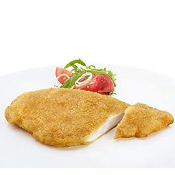Pechuga de pollo filete empanado prefrito