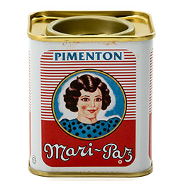 Pimentón dulce lata 75Gr