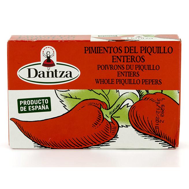 Pimientos del piquillo  navarro entero extra Dantza