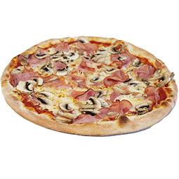 Pizza Jamón y Queso Italiana 6X400gr