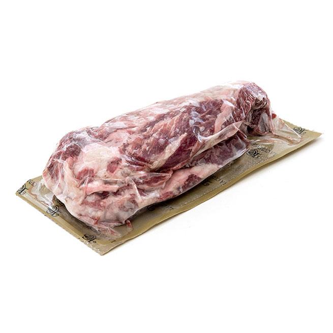 Pluma de cerdo ibérico