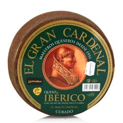 Queso Ibérico curado 3Kg Gran Cardenal