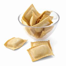 Raviolacci relleno de jamón y queso 1Kg