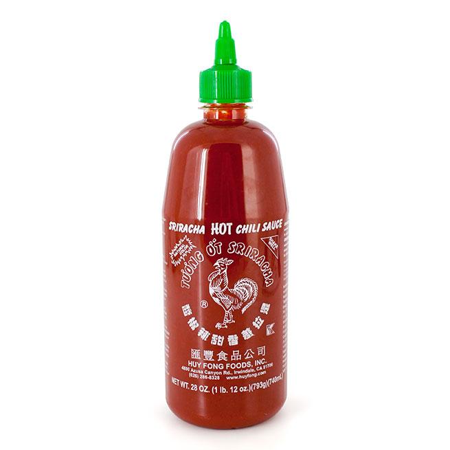 Salsa sriracha hot chili 740Gr