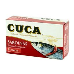 Sardina 125Gr picante 3/4 piezas CUCA