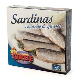 Sardina en aceite 550Gr