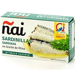 Sardina en aceite de oliva Ñai lata