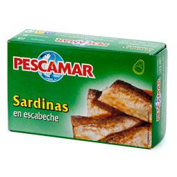 Sardina en escabeche lata
