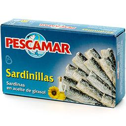 Sardinilla en aceite de girasol