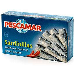 Sardinilla en aceite picante