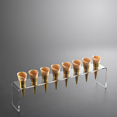 Soporte Plastico Rectangular 8 Conos