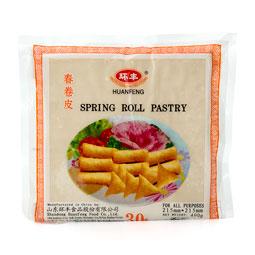 Spring rolls 30 piezas x 215 mm (pasta rollo primavera) congelada