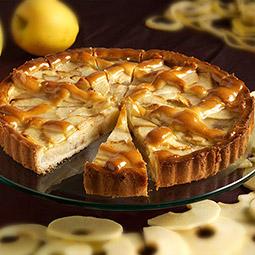 Tarta de manzana y pasas precortada 14 raciones