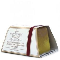 Terrina de Foie Gras Entier Mi-Cuit 30% Trozos 500 g. Volex