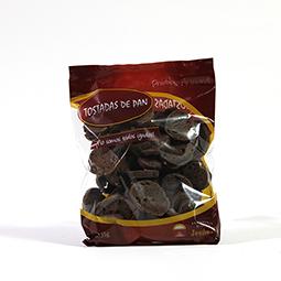 Tostaditas crujientes de cacao