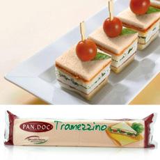Tramezzini Pan de Molde De Caramelo