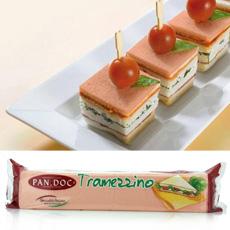 Tramezzini Pan de Molde De Tomate