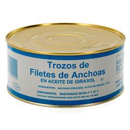 Trozos de filete de anchoa Cantábrico RO1000