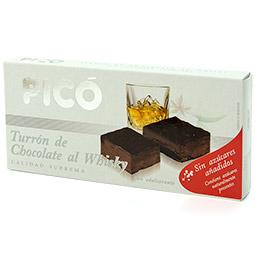 Turrón de chocolate al whisky calidad suprema sin azucar