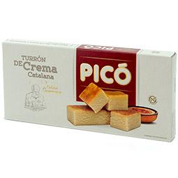 Turrón de crema catalana calidad suprema