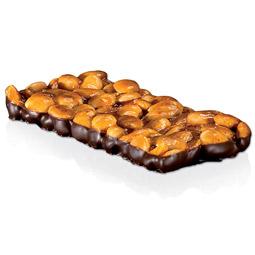 Turrón de guirlache con chocolate calidad Jijona 300Gr Romero