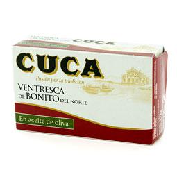Ventresca de bonito 82Gr  aceite de oliva CUCA