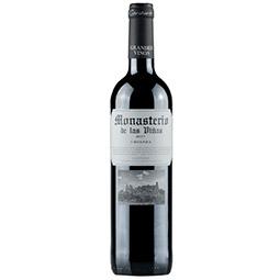 Vino Tinto Monasterio de las viñas crianza 2017 D.O.P Cariñena